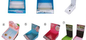 紙什器の製作もやってます!