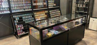 カフェ&バーカードショップ様ご購入 ガラスショーケースの紹介